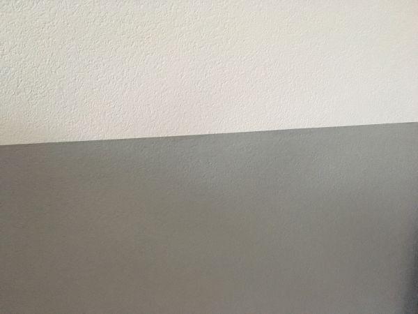 strakke lijn op de muur